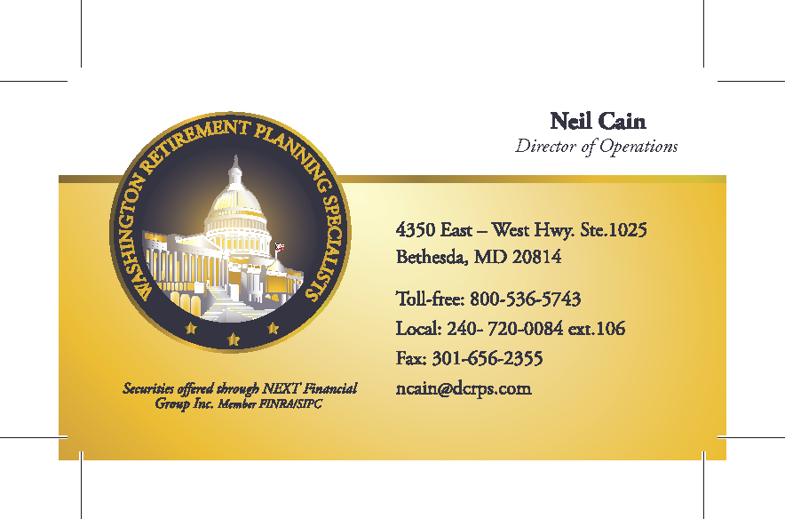 Business Card - Neil Cain