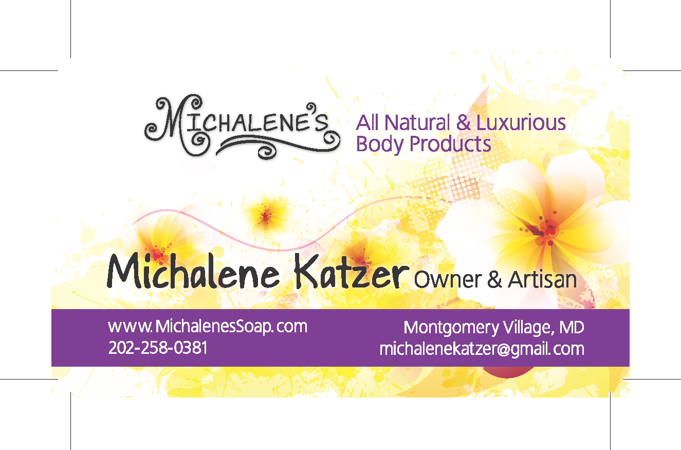 Business Card - Michalene Katzer