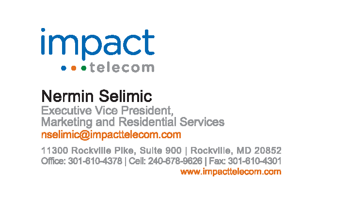 Business Card - Nermin Selimic