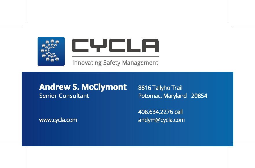 Business Card - Andrew McClymont