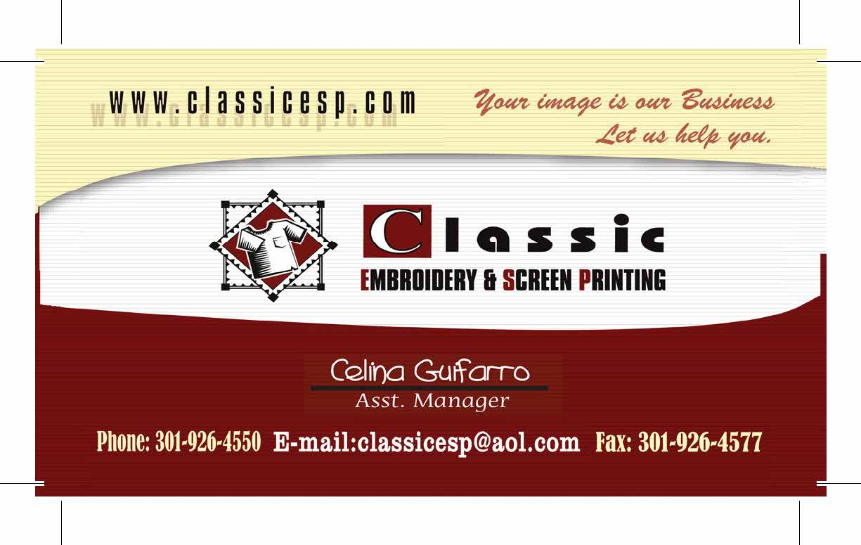 Business Card - Celina Guiforno